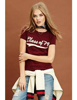 Class Of '79 Graphic Tee by F21 Contemporary