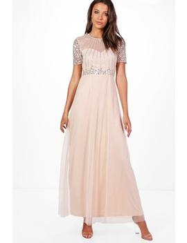 Tall Boutique Shira Embellished Maxi Dress by Boohoo
