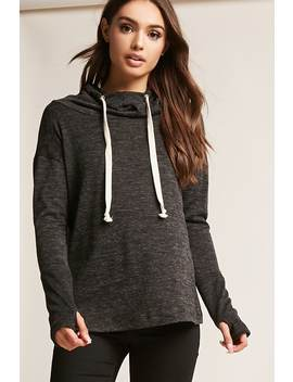 Cowl Neck Sweatshirt by F21 Contemporary