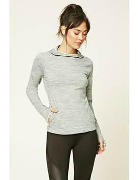 Active Heathered Pullover by F21 Contemporary