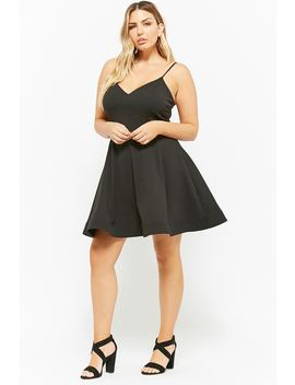 Plus Size Fit & Flare Cami Dress by Forever 21