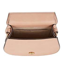 Nile Small Leather & Suede Crossbody Bag by Chloé