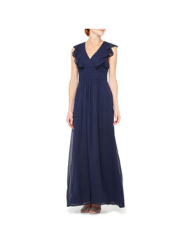 Blu Sage Sleeveless Evening Gown by Blue Sage