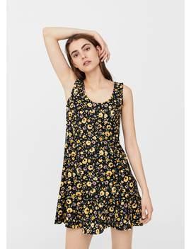 Kleid Mit Volantsaum by Mango