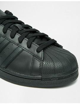 Adidas Originals Superstar Sneakers In Black Af5666 by Adidas Originals