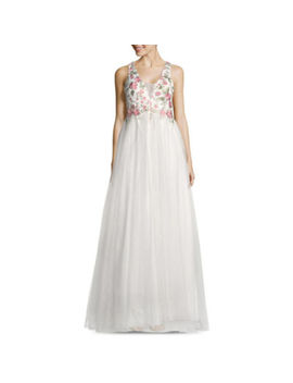 My Michelle Sleeveless Embroidered Ball Gown Juniors by My Michelle