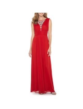 Melrose Sleeveless Evening Gown by Melrose