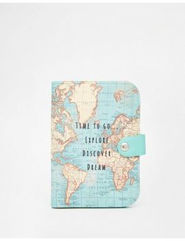 Sass & Belle Time To Explore Passport Holder by Asos Brand