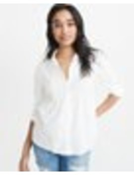Pintuck Shirt by Abercrombie & Fitch