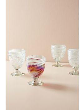 Jupiter Wine Glass Set by Anthropologie