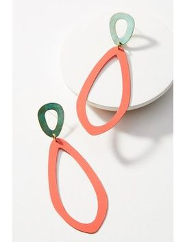 Wilma Drop Earrings by Sibilia