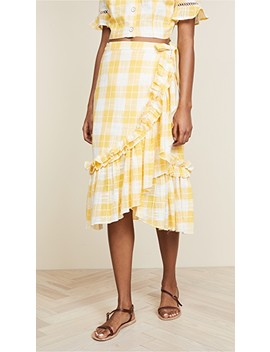 Lucila Wrap Skirt by Red Carter