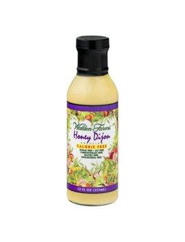 Walden Farms Honey Dijon Dressing Calorie Free, 12.0 Fl Oz by Walden Farms