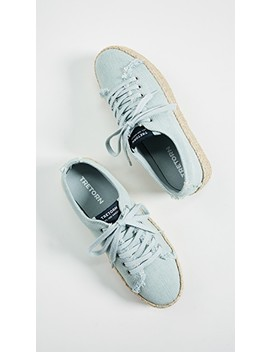 Eve Lace Up Espadrille Sneakers by Tretorn
