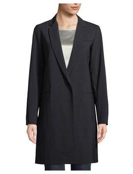 Marabela Single Breasted Coat by Lafayette 148 New York