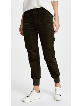 Slouchy Corduroy Military Pants by Vince