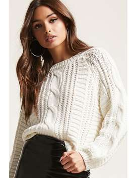 Balloon Sleeve Fisherman Top by F21 Contemporary
