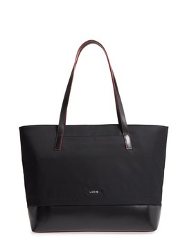 Kate   Fabia Under Lock & Key Nylon & Leather Tote by Lodis