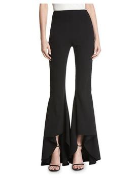 Jinny High Low Flared Leg Pants by Alice + Olivia