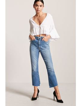 Crop Top Volantes by F21 Contemporary