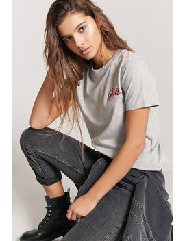 "Playera ""Girls"" by F21 Contemporary"