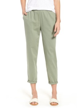 Organic Cotton Tapered Ankle Pants by Eileen Fisher