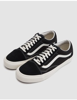 Og Old Skool Lx Sneaker In Black/Marshmallow by Need Supply Co.