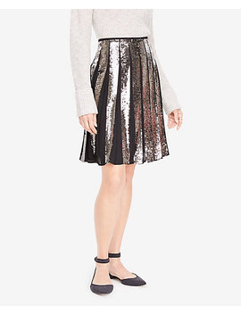 Petite Sequin Full Skirt by Ann Taylor