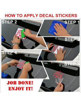 Funny Vinyl Car Stickers And Decals Window Wiper Rear Windshield Decor Car Styling For Bmw Vw Ford Toyota Honda Kia 35*7cm by Car Stickers Supermarket  Tgc