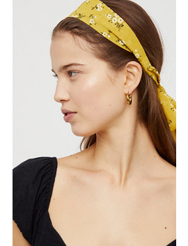 Printed Chiffon Tie Back Headband by Free People