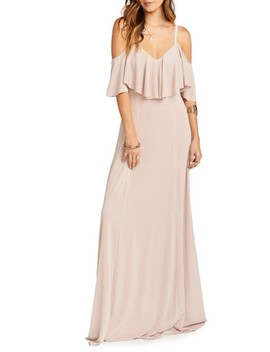 Renee Ruffle Gown by Show Me Your Mumu