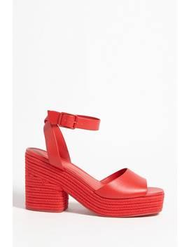 Espadrille Platform Heels by Forever 21