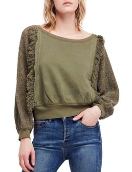 Faff Fringe Sweater by Free People