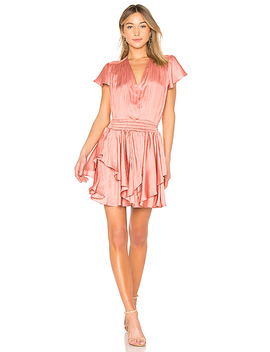 Flounce Dress by Halston Heritage