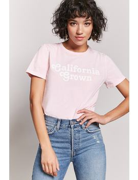 California Grown Graphic Tee by F21 Contemporary