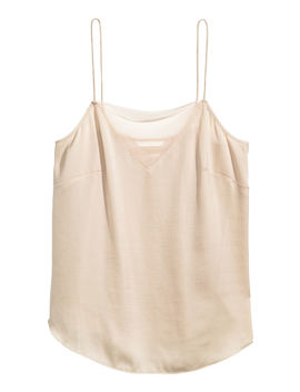 Top Mit Meshdetail by H&M