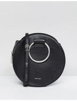 Matt & Nat Sina Ring Handle Bag With Cross Body Strap by Matt & Nat
