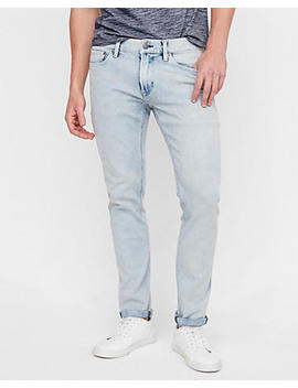 Skinny Light Wash 4 Way Stretch Jeans by Express