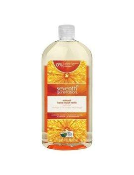 Seventh Generation Natural Hand Wash Refill, Mandarin Orange & Grapefruit, 32 Ounce by Seventh Generation