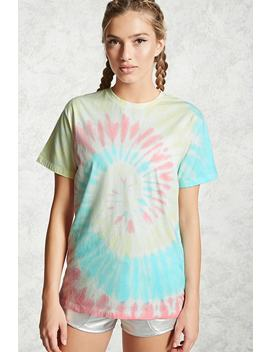 Active Tie Dye Tee by F21 Contemporary
