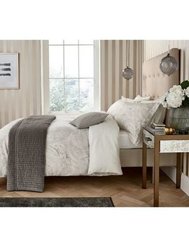 Harlequin   Natural Cotton Sateen 200 Thread Count 'makrana' Duvet Cover by Harlequin