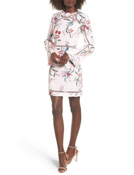 Indulge Floral Sheath Dress by Keepsake The Label