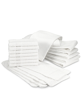 Banded Hand Towels (Set Of 7) by Bed Bath And Beyond