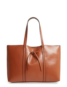 Oversize City Faux Leather Tote by Sole Society