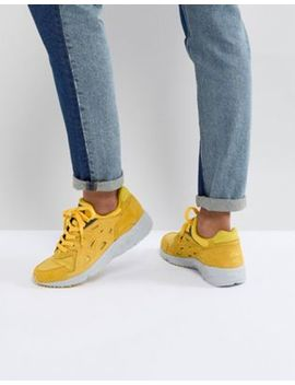 Asics Gel Trainers In Yellow by Asics
