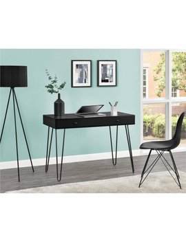 Ameriwood Home Owen Retro Student Desk, Black by Altra