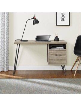 Altra Landon Desk, Sonoma Oak/Gunmetal Gray by Altra