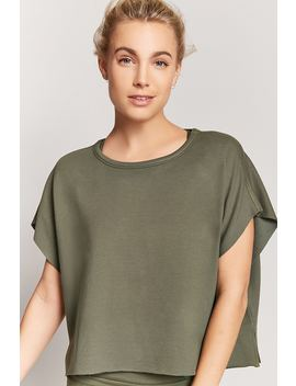 Active Boxy Top by F21 Contemporary