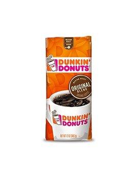 Dunkin' Donuts Original Blend Ground Coffee, Medium Roast, 12 Ounce by Dunkin' Donuts