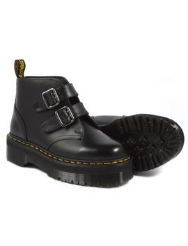 Dr. Martens Devon Women's Aggy Style Black Smooth Boot Us 9 Eu 41 Uk 7 Last&Rare by Dr. Martens